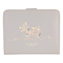 Buy Radley Rosemary Gardens Medium Matinée Purse, Grey Online at johnlewis.com