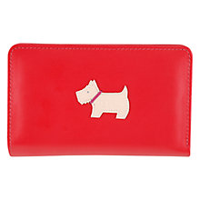 Buy Radley Heritage Dog Medium Matinée Leather Purse Online at johnlewis.com