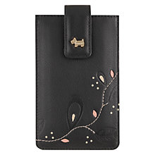 Buy Radley On The Trail iPhone Case, Black Online at johnlewis.com