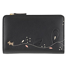 Buy Radley On The Trail Medium Leather Purse, Black Online at johnlewis.com