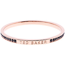 Buy Ted Baker Clem Crystal Bangle Online at johnlewis.com