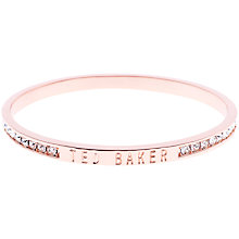 Buy Ted Baker Clem Swarovski Crystal Bangle Online at johnlewis.com