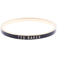 Buy Ted Baker Clary Enamel Bangle Online at johnlewis.com