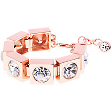 Buy Ted Baker Oleska Square Crystal Bracelet Online at johnlewis.com