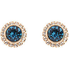 Buy Ted Baker Sully Crystal Daisy Stud Earrings Online at johnlewis.com