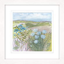 Buy Diane Demirci - Harvest Hills Framed Limited Edition Giclee Print, 57 x 57cm Online at johnlewis.com