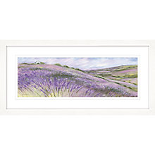 Buy Diane Demirci - Cottage On The Hill Framed Giclee Print, 52 x 107cm Online at johnlewis.com