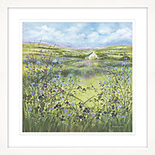 Buy Diane Demirci - Blackberry Cottage Garden Framed Giclee Print, 87 x 87cm Online at johnlewis.com