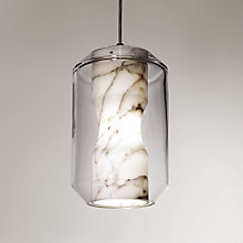 Buy Lee Broom Chamber Large Ceiling Light, White Online at johnlewis.com
