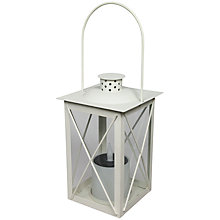 Buy Luxform Sulawesi LED/Solar Outdoor Lantern Online at johnlewis.com