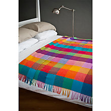 Buy Avoca Circus Wool Throw, Multi Online at johnlewis.com