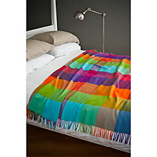 Buy Avoca Silken Throw, Multi Online at johnlewis.com