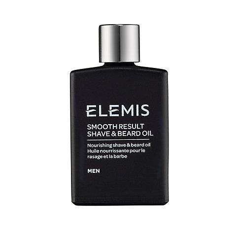 buy elemis smooth result shave beard oil 30ml john lewis. Black Bedroom Furniture Sets. Home Design Ideas