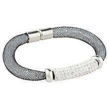 Buy Adele Marie Silver Bead Tube Stretch Bracelet Online at johnlewis.com