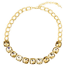 Buy Adele Marie Gold Plated Topaz Necklace, Gold Online at johnlewis.com