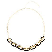 Buy Adele Marie Gold Plated Two Chain Necklace, Gold Online at johnlewis.com