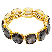 Buy Adele Marie Gold Glass Stone Bracelet, Gold Online at johnlewis.com