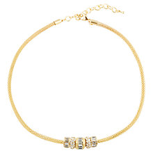Buy Adele Marie Glass Stone Chunky Chain Necklace Online at johnlewis.com