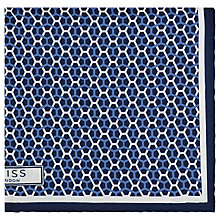 Buy Reiss Santa Cruz Silk Pocket Square Online at johnlewis.com