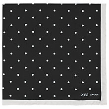 Buy Reiss Garbo Silk Pocket Square Online at johnlewis.com