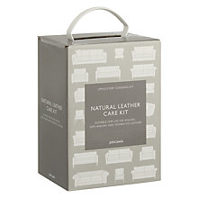 Buy John Lewis Natural Leather Upholstery Cleaner & Care Kit Online at johnlewis.com