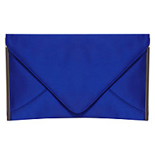 Buy Coast Ellie Envelope Clutch Bag, Cornflower Online at johnlewis.com