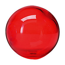 Buy LSA International Glass Globe, Red Online at johnlewis.com