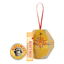 Buy Burt's Bees Classic Beeswax Hand and Lip Tree Decoration Online at johnlewis.com