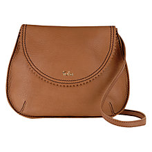 Buy Tula Caribou Medium Leather Acrossbody Flapover Bag Online at johnlewis.com