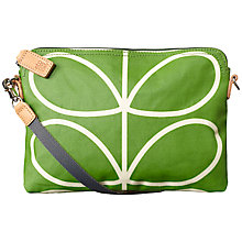 Buy Orla Kiely Matte Laminated Stem Travel Pouch, Apple Online at johnlewis.com