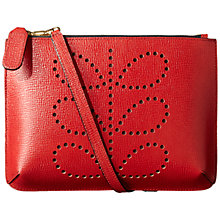 Buy Orla Kiely Textured Leather Across Body Online at johnlewis.com