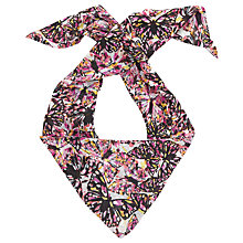 Buy John Lewis Skinny Butterfly Scarf, Black/Multi Online at johnlewis.com