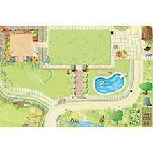 Buy Le Toy Van Doll House Playmat Online at johnlewis.com