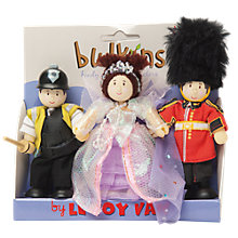 Buy Le Toy Van Heart of London Budkins Figures, 3 Pack Online at johnlewis.com