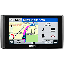 "Buy Garmin Nuvi 2599 LMT-D DashCam with Bluetooth & 6"" Touchscreen Online at johnlewis.com"