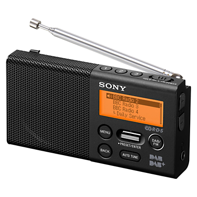Sony XDR-P1 Portable DAB/DAB+/FM Digital Radio