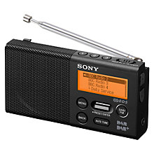 Buy Sony XDR-P1 Portable DAB/DAB+/FM Digital Radio Online at johnlewis.com