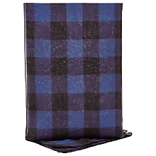 Buy Reiss Ollie Printed Scarf, Blue Online at johnlewis.com