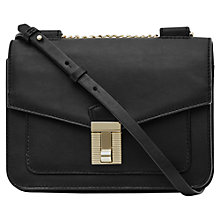 Buy Reiss Khy Mini Cross Body Bag, Black Online at johnlewis.com
