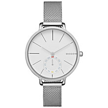 Buy Skagen SKW2358 Women's Hagen Stainless Steel Bracelet Strap Watch, Silver Online at johnlewis.com