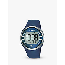 Buy Lorus RG251KX9 Children's Nylon Strap Watch, Purple/White Online at johnlewis.com