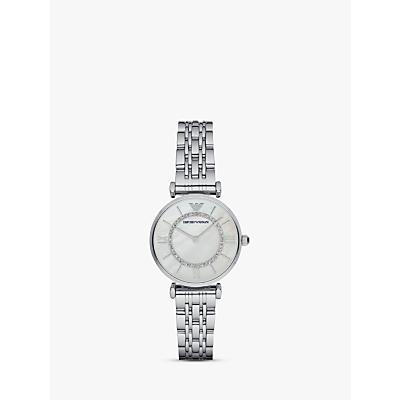 Emporio Armani Women's Stainless Steel Bracelet Strap Watch
