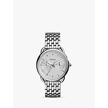 Buy Fossil Women's Tailor Stainless Steel Bracelet Watch Online at johnlewis.com