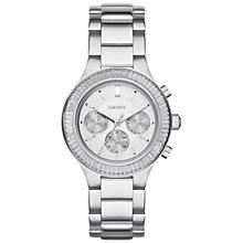 Buy DKNY NY2394 Chambers Stainless Steel Silver Bracelet Strap Watch, Silver Online at johnlewis.com