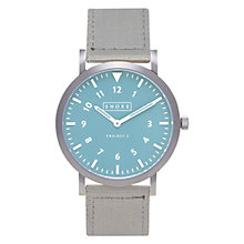 Buy Shore Projects W009S007 Unisex Lulworth Canvas Strap Watch Online at johnlewis.com