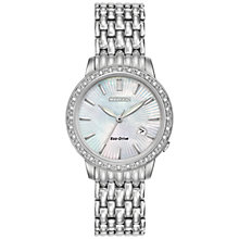 Buy Citizen Women's Silhouette Diamond Bracelet Strap Watch Online at johnlewis.com