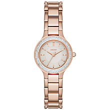 Buy DKNY Women's Chambers Stainless Steel Bracelet Strap Watch Online at johnlewis.com