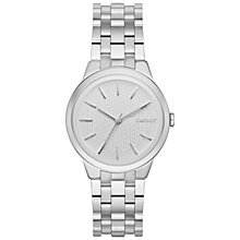 Buy DKNY NY2381 Women's Park Slope Bracelet Strap Watch, Silver Online at johnlewis.com