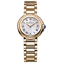 Buy Maurice Lacroix FA1003-PVP06-11 Women's Fiaba Stainless Steel Bracelet Strap Watch, Gold/Silver Online at johnlewis.com
