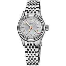 Buy Oris 01 594 7695 4061-07 8 14 30 Men's Big Crown Original Pointer Date Bracelet Strap Watch, Silver Online at johnlewis.com